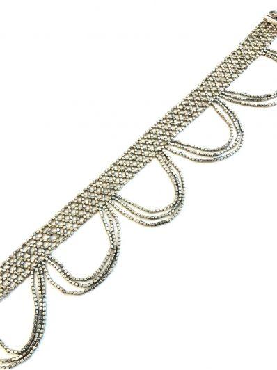 Collana girocollo perline