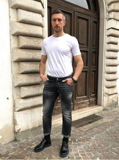 Jeans schiariture