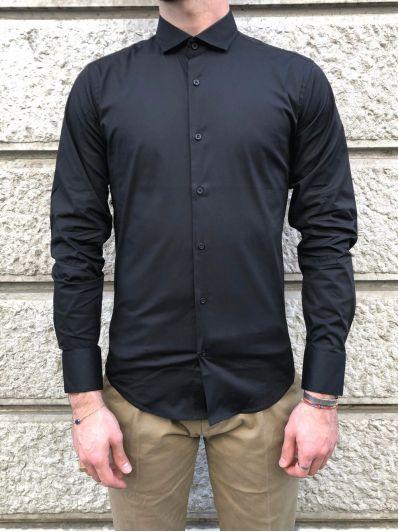 Camicia colletto basic