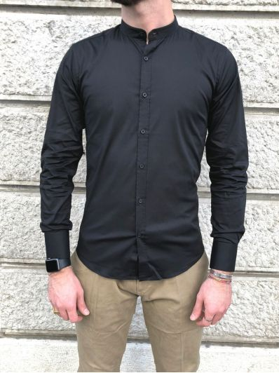 Camicia coreana basic