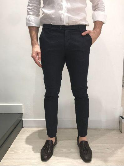 Pantalone micropuntinato