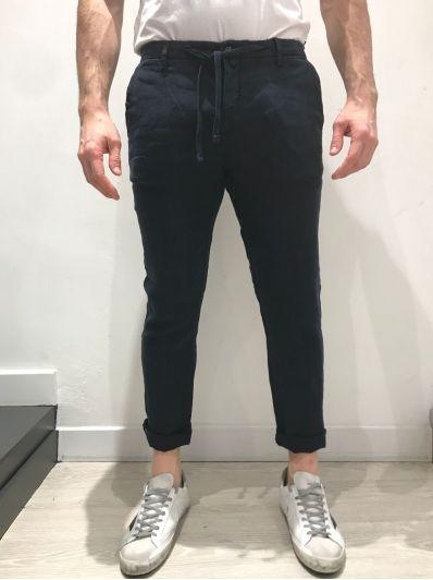 Pantalone coulice lino