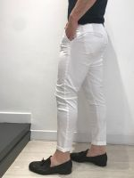 Pantalone cavallo abbassato con cintura