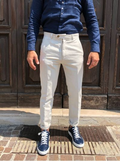 Pantalone con taschino davanti officina