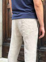 Pantalone laccio lino