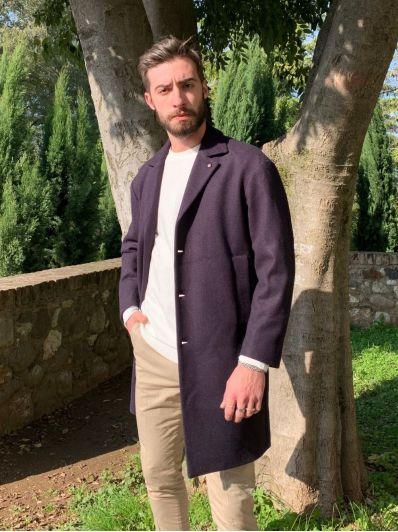 Cappotto cintura dietro