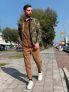 Pantalone con doppia pence e taschino