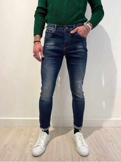 Jeans steve super skinny elasticizzato