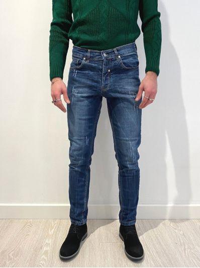 Jeans strappetti overd